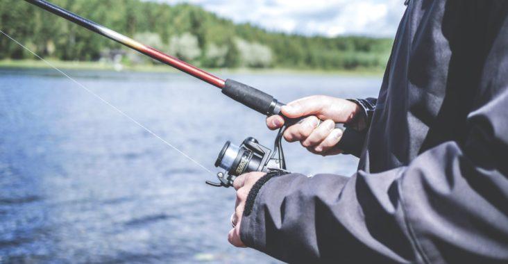 Fiskestang og udstyr
