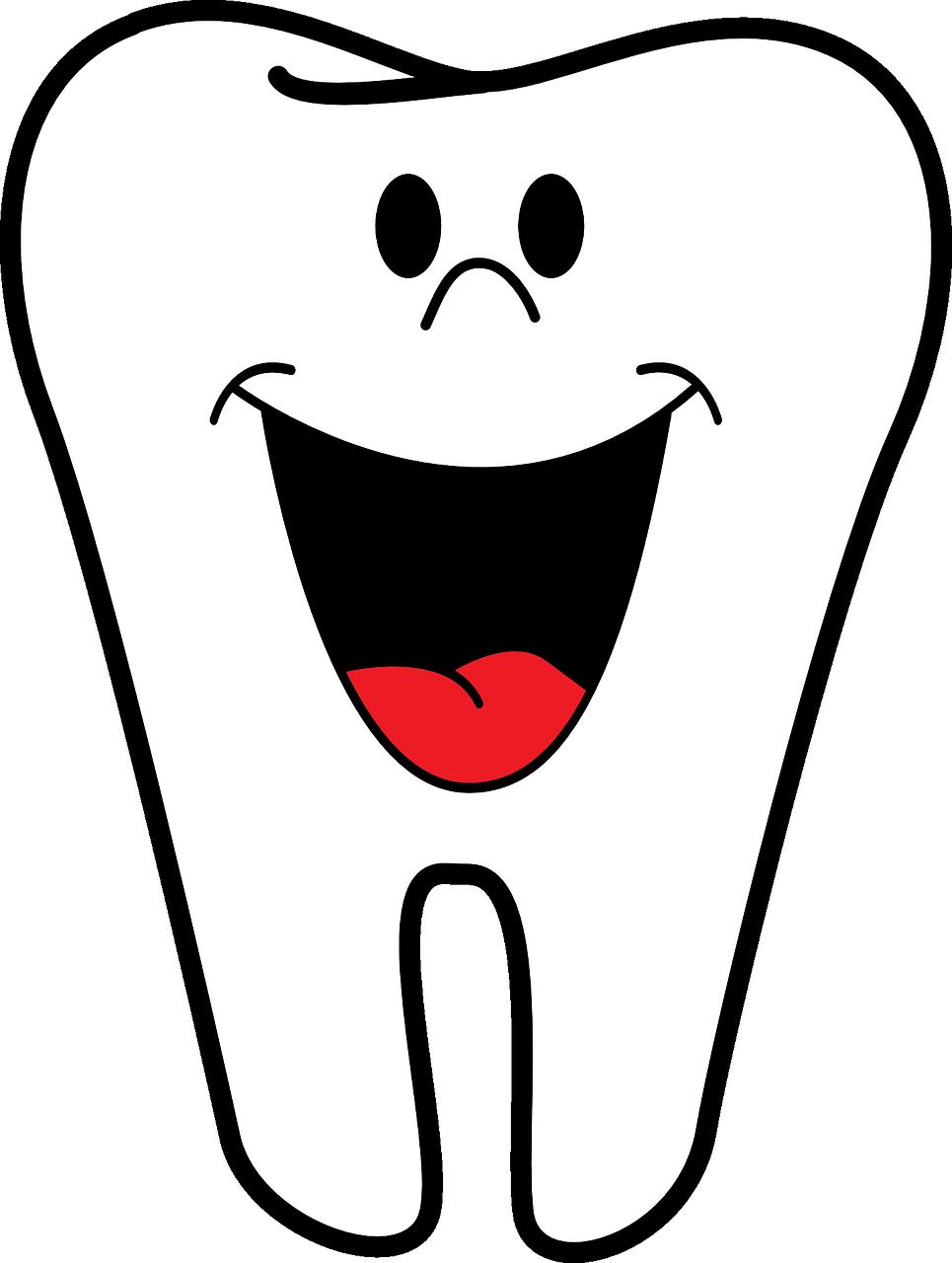 tegnet tand der smiler