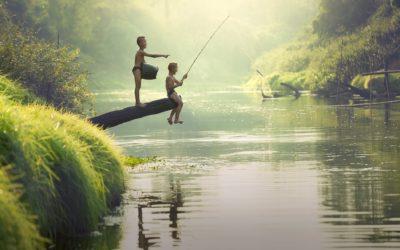 Nu er der tid til af få fiskestangen frem