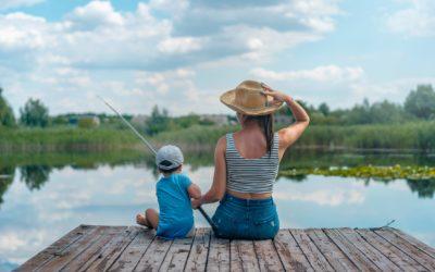 Brug fiskeri som terapi